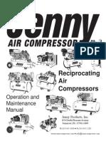 Jenny Compressor Manual