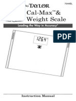 Calmax weight scale