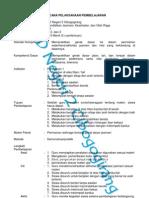 RPP Penjas SD Kelas 1-6 Semester 1