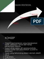 Domain Krathwohl Slide