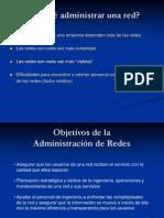Objetivos de la Administración de Redes
