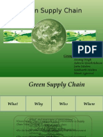 Group 8B Green Supply Chain