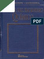 Manual del Ingeniero Químico [Antonio Valiente, Jaime Noriega]