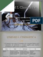Unidad I  Cinemática
