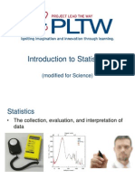 Statistics From PLTW