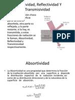Absortividad, Reflectividad Y Transmisividad.pptx