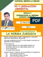 CLASE 1 Introduccion Al Sistema Juridico Ambiental