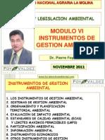 CLASE 6 Instrumentos de Gestion Ambiental