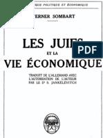 Sombart Werner - Les juifs et la vie économique