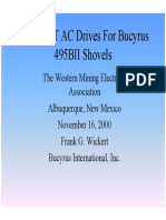 AFE Drives for B.E. 495 Shovels