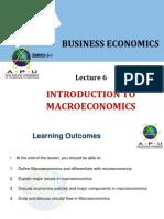 BECON 6 - Intro to Macroeconomics