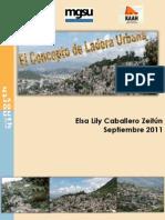 Concepto de Ladera Urbana