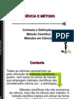 2 - CIÊNCIA E MÉTODO