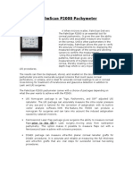 PalmScan P2000 Pachymeter