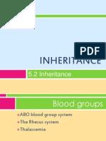 5.2 Inheritance