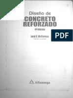 Diseño de Concreto reforzado - 4ta. Ed. McCormac