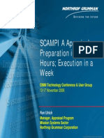 NDIA 2006 SCAMPI a Appraisals -Preparation in 100 Hours Execution in a Week 2C3_Ulrich