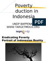 20341847 Poverty Reduction in Indonesia