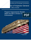 S.E.C. Inspector General's Recommendations