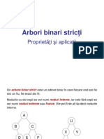 Arbori binari stricti proprietati