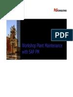 Workshop on SAP PM