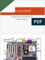 Clase 2 - Descripción grafica de las placas bases, puertos, etc. para guia 1