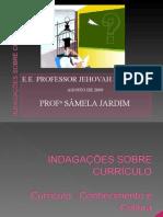 INDAGAÇÕES SOBRE CURRÍCULO_samela