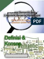 TUT 1 BMM3111 Konsep Semantik Dan Linguistik