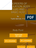 Body Fluid and Electrolyt