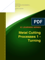 IC Learning Series 2012 - Metal Cutting Processes - Turning