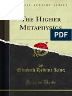 The Higher Metaphysics 1000041877