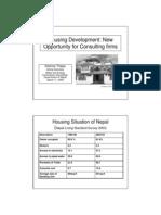 1. Housing Development--Kishore Thapa PPT