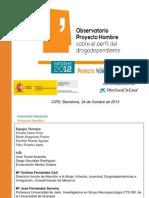 Informe 2012 Para CIPD 2013