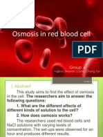 Osmosis in Red Blood Cell (2ndrevision)