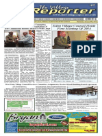The Village Reporter - January 29th, 2014