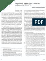 asentamientos urbanos, poblaciones y villas en la española 1664-1778 Poblaciones-Gutierrez Escudero