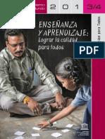 Informe de Seguimiento de la Educación Para Todos en el Mundo  2013/14-UNESCO
