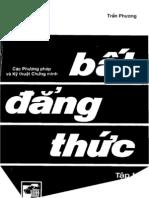 Bat Dang Thuc Tran Phuong Tap 1 9154