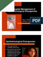 Session 5802 Eye Emergencies