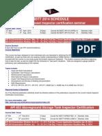 INDTT 2014Training Programme