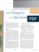 Reading-The Imagery of Macbeth