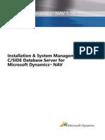 Navision Standard System Admin Manual