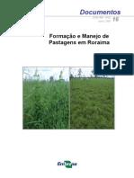 Formação e Manejo de Pastagens em Roraima