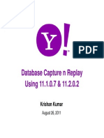 Database Capture Replay