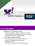 MySQL Databases at RightMedia
