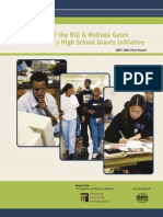 Evaluation of Bill and Melinda Gates Foundation's High School Grants Initiative