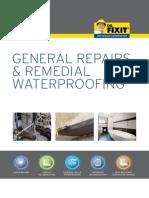 Dr Fixit General Repair Remedial Waterproofing Guide