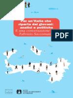 Per un'Italia che  riparta dai giovani