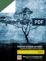 Catalogo Tessuti Accessori Sostenibili