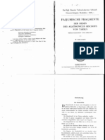 Erichsen Faijumische Fragmente Der Reden Des Agathonicus Bischofs Von Tarsus